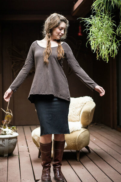 Blessed Mama Long Sleeve Tunic Top